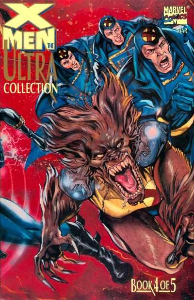 X-Men: The Ultra Collection #4 comic books - cover scans photos X-Men: The Ultra Collection #4 comic books - covers, picture gallery
