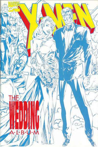 X-Men: The Wedding Album comic books