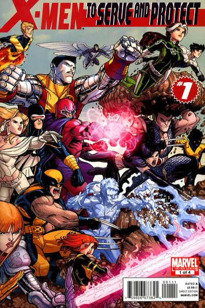X-Men: To Serve and Protect comic books