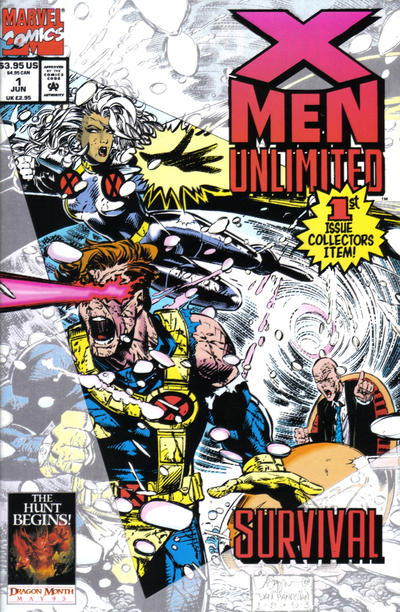 X-Men Unlimited #1 comic books for sale