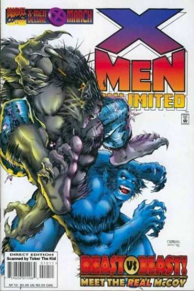 X-Men Unlimited #10 Comic Books - Covers, Scans, Photos  in X-Men Unlimited Comic Books - Covers, Scans, Gallery