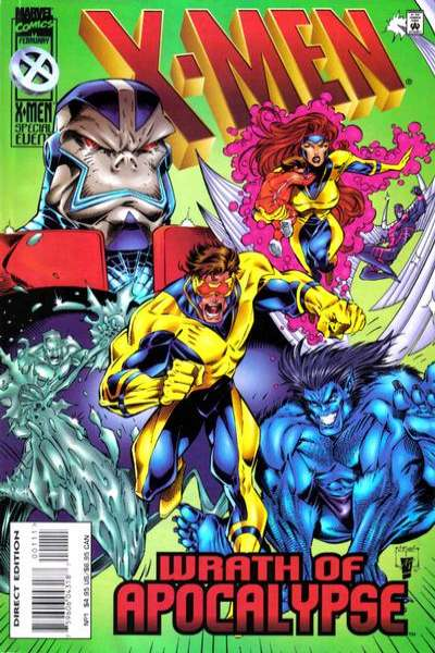 X-Men: Wrath of Apocalypse comic books