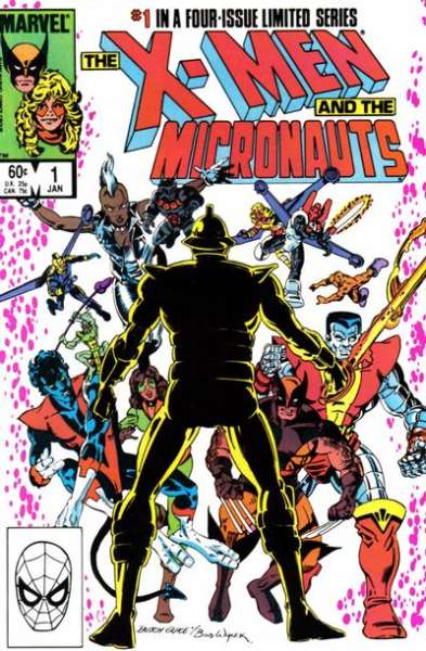 X-Men and the Micronauts comic books
