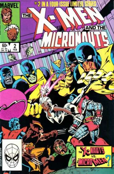 X-Men and the Micronauts #2 comic books for sale