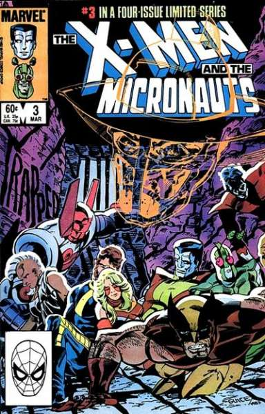 X-Men and the Micronauts #3 comic books for sale