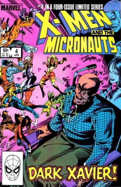 X-Men and the Micronauts #4 comic books for sale