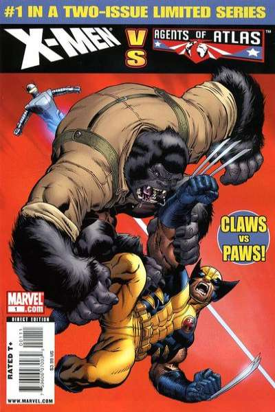X-Men vs. Agents of Atlas Comic Books. X-Men vs. Agents of Atlas Comics.