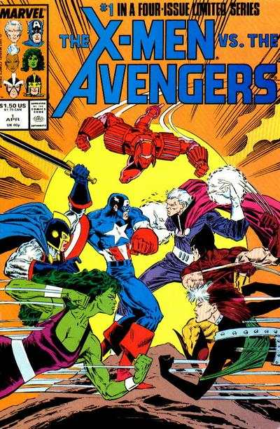 X-Men vs. The Avengers comic books