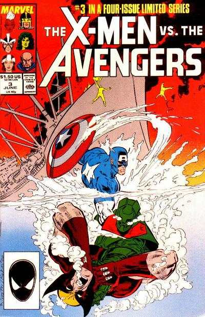 X-Men vs. The Avengers #3 comic books for sale