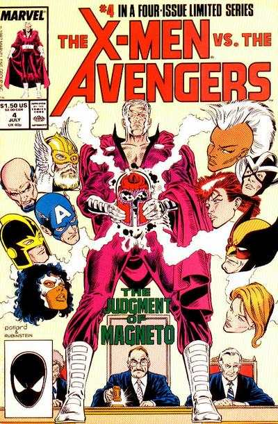 X-Men vs. The Avengers #4 comic books - cover scans photos X-Men vs. The Avengers #4 comic books - covers, picture gallery