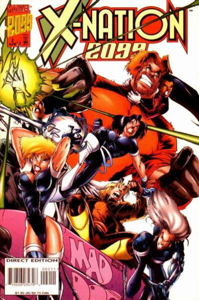 X-Nation 2099 #2 comic books for sale