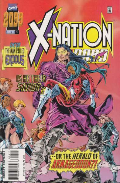 X-Nation 2099 #4 comic books for sale