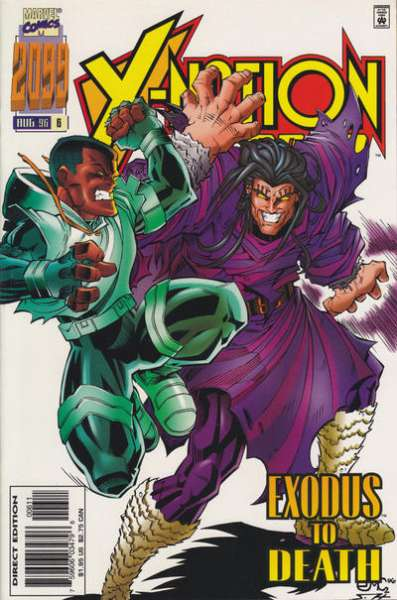 X-Nation 2099 #6 comic books for sale