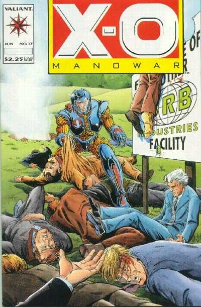 X-O Manowar #17 comic books for sale