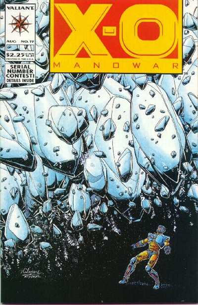 X-O Manowar #19 comic books for sale