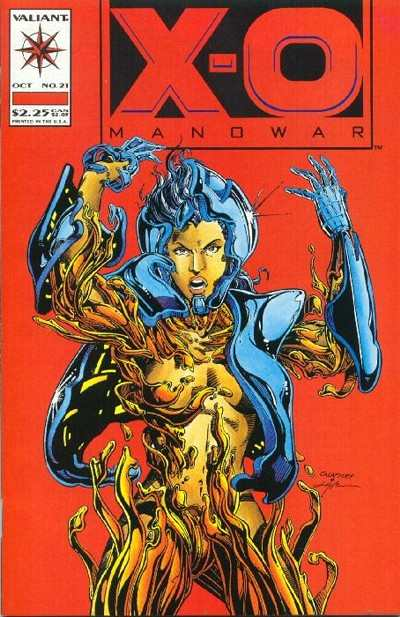 X-O Manowar #21 comic books for sale