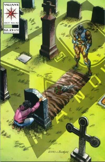 X-O Manowar #32 Comic Books - Covers, Scans, Photos  in X-O Manowar Comic Books - Covers, Scans, Gallery