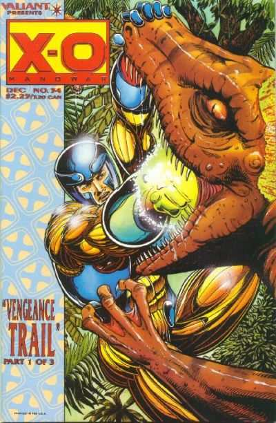 X-O Manowar #34 Comic Books - Covers, Scans, Photos  in X-O Manowar Comic Books - Covers, Scans, Gallery