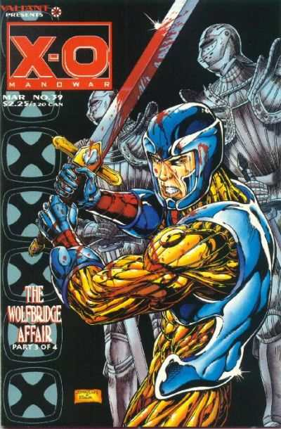 X-O Manowar #39 comic books for sale