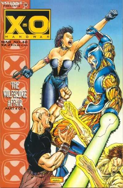 X-O Manowar #40 Comic Books - Covers, Scans, Photos  in X-O Manowar Comic Books - Covers, Scans, Gallery