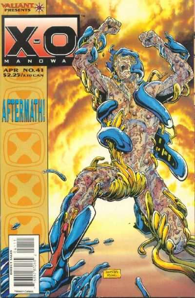 X-O Manowar #41 Comic Books - Covers, Scans, Photos  in X-O Manowar Comic Books - Covers, Scans, Gallery