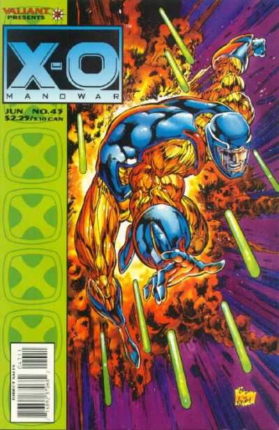 X-O Manowar #43 comic books for sale