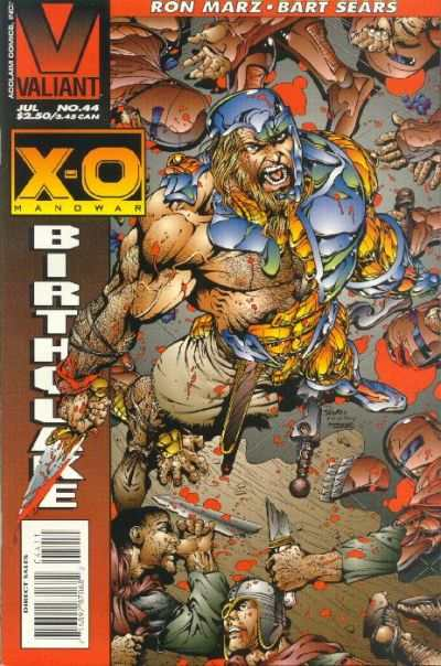 X-O Manowar #44 comic books for sale