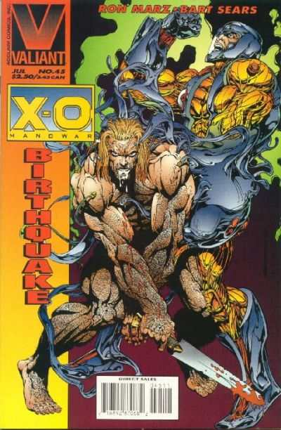 X-O Manowar #45 comic books for sale