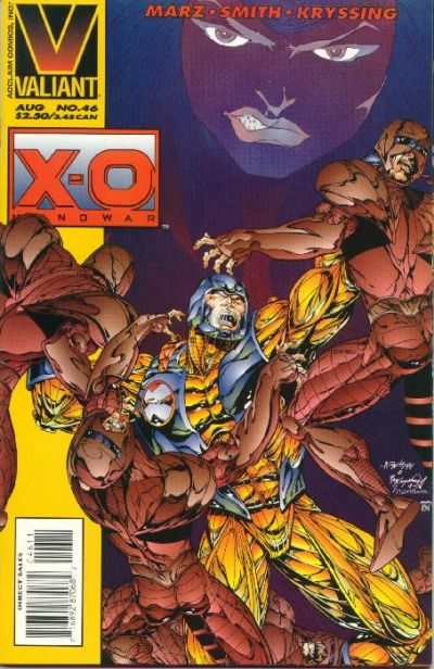 X-O Manowar #46 Comic Books - Covers, Scans, Photos  in X-O Manowar Comic Books - Covers, Scans, Gallery