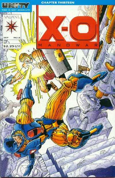 X-O Manowar #8 comic books for sale