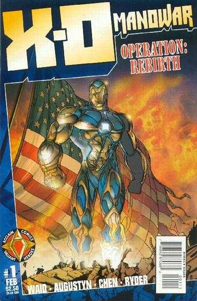 X-O Manowar comic books