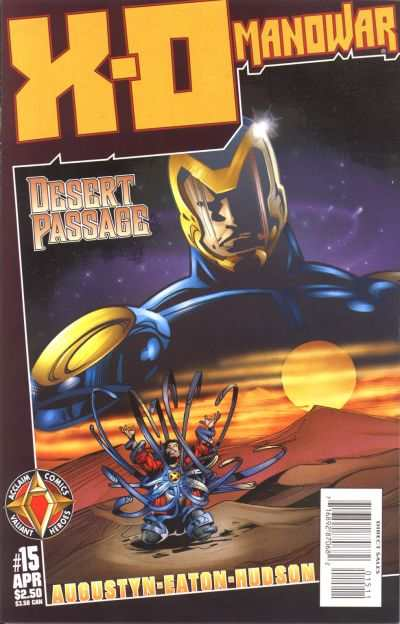 X-O Manowar #15 Comic Books - Covers, Scans, Photos  in X-O Manowar Comic Books - Covers, Scans, Gallery