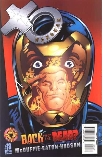 X-O Manowar #18 comic books - cover scans photos X-O Manowar #18 comic books - covers, picture gallery