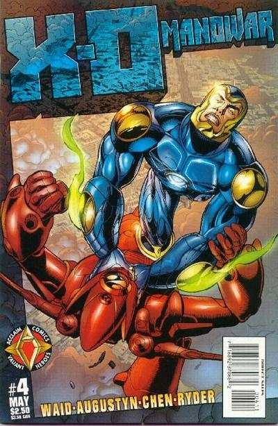 X-O Manowar #4 cheap bargain discounted comic books X-O Manowar #4 comic books