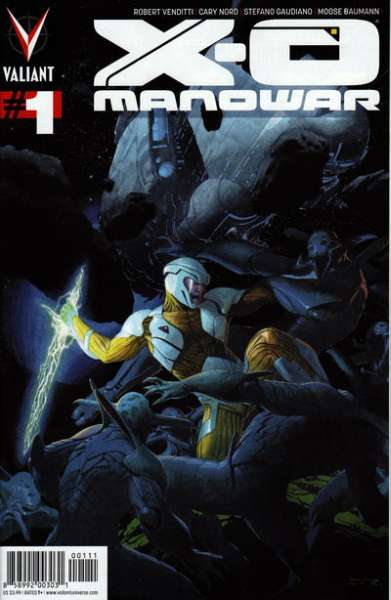 X-O Manowar #1 comic books - cover scans photos X-O Manowar #1 comic books - covers, picture gallery