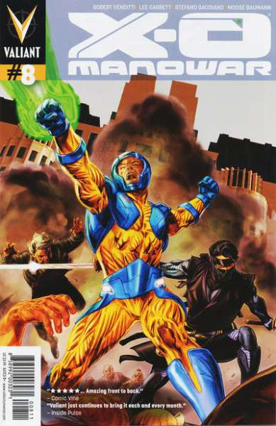 X-O Manowar #8 comic books - cover scans photos X-O Manowar #8 comic books - covers, picture gallery