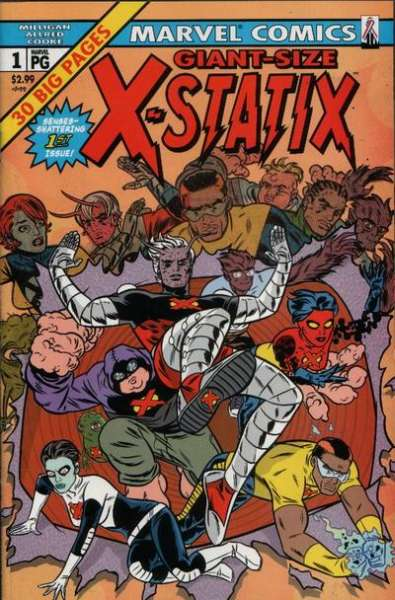 X-Statix #1 comic books for sale