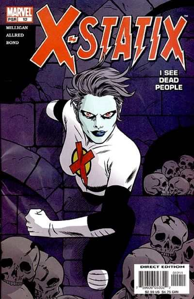 X-Statix #12 Comic Books - Covers, Scans, Photos  in X-Statix Comic Books - Covers, Scans, Gallery