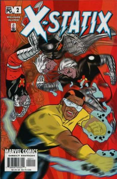 X-Statix #2 Comic Books - Covers, Scans, Photos  in X-Statix Comic Books - Covers, Scans, Gallery