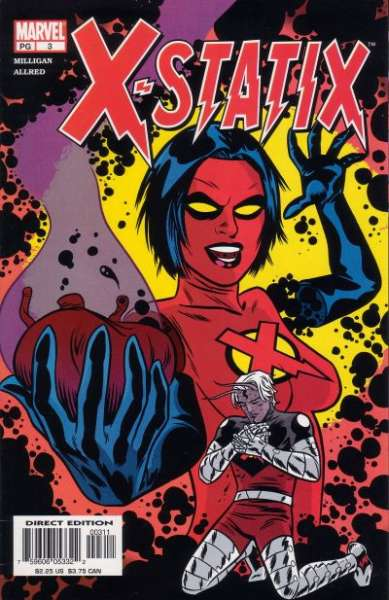 X-Statix #3 Comic Books - Covers, Scans, Photos  in X-Statix Comic Books - Covers, Scans, Gallery