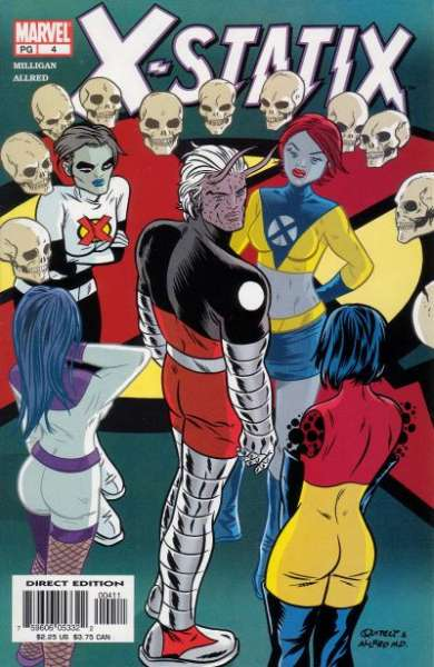 X-Statix #4 Comic Books - Covers, Scans, Photos  in X-Statix Comic Books - Covers, Scans, Gallery