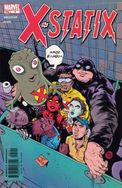 X-Statix #5 Comic Books - Covers, Scans, Photos  in X-Statix Comic Books - Covers, Scans, Gallery
