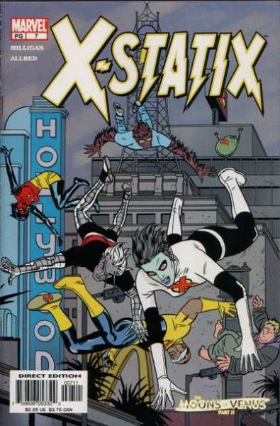 X-Statix #7 comic books for sale