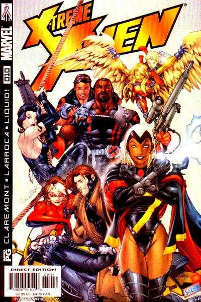 X-Treme X-Men #10 comic books - cover scans photos X-Treme X-Men #10 comic books - covers, picture gallery