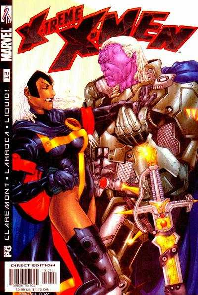 X-Treme X-Men #12 comic books - cover scans photos X-Treme X-Men #12 comic books - covers, picture gallery