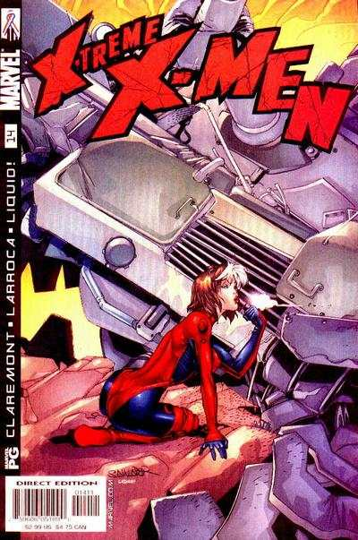 X-Treme X-Men #14 comic books - cover scans photos X-Treme X-Men #14 comic books - covers, picture gallery