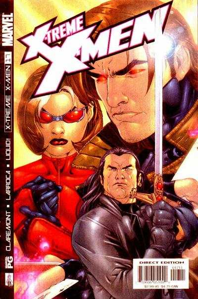 X-Treme X-Men #17 comic books - cover scans photos X-Treme X-Men #17 comic books - covers, picture gallery
