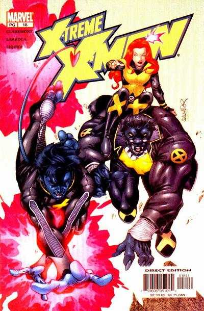X-Treme X-Men #18 comic books for sale