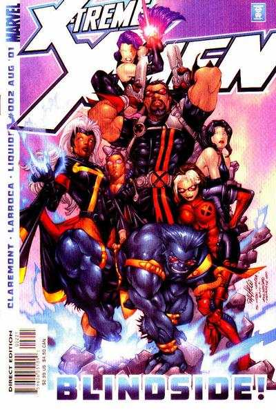 X-Treme X-Men #2 comic books - cover scans photos X-Treme X-Men #2 comic books - covers, picture gallery