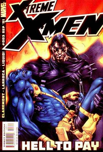 X-Treme X-Men #3 comic books - cover scans photos X-Treme X-Men #3 comic books - covers, picture gallery